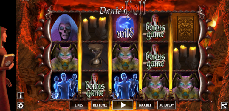 Dante Purgatory HD Slot Machine With No Download